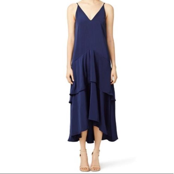 KEEPSAKE the Label Dresses & Skirts - Keepsake (RTR) Navy Mercy Maxi Dress. Size Medium